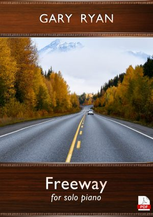 Freeway for solo piano