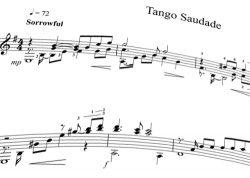 Tango Saudade page.