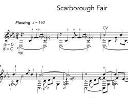 Scarborough Fair notation