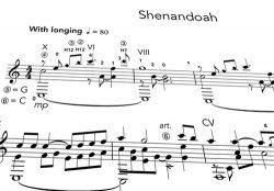 Shenandoah PDF Notation