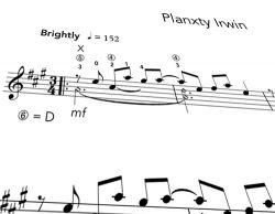 Planxty PDF Notation