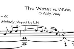 Water is wide PDF notation